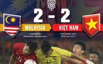 Tuyển VN dứt điểm gấp đôi so với Malaysia
