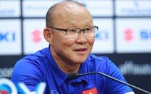HLV Park: Tôi thất vọng vì không thắng được Malaysia