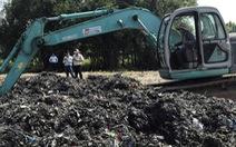 Xem xét kỷ luật lãnh đạo xã vụ đem chất thải san lấp mặt bằng