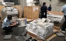 Lô thiết bị y tế nhập lậu trong các container hàng từ Mỹ