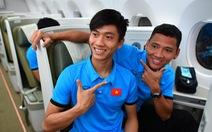 Tuyển Việt Nam trên chuyến bay rời Malaysia