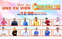 Bình chọn 'Công dân trẻ tiêu biểu TP.HCM' 2018