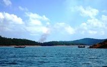 Hồ Phú Ninh xả nước điều tiết lũ