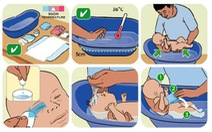 Cách tắm cho trẻ ngày giá rét để không bị nhiễm lạnh