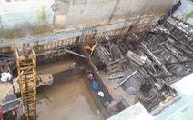 Đào tầng hầm xây nhà làm sụt móng, nghiêng 4 nhà lân cận