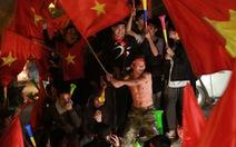 Biển người ở Mỹ Đình sau khi Việt Nam vô địch AFF CUP 2018