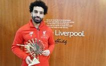 Salah đoạt danh hiệu Cầu thủ châu Phi xuất sắc nhất năm 2018