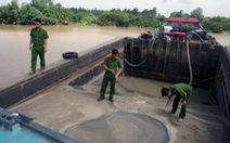 Đồng Nai khởi tố một đối tượng khai thác cát trái phép trên sông