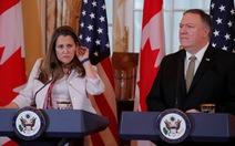 Ngoại trưởng Mỹ yêu cầu Trung Quốc thả hai công dân Canada
