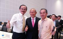 HLV Park Hang Seo hội ngộ bầu Đức và bầu Thắng tại Quảng Nam