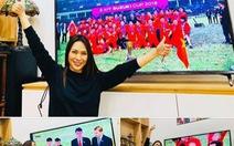 Facebook các nghệ sĩ nổi tiếng 'rộn ràng' với Việt Nam vô địch