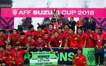 Đội tuyển Việt Nam đã được thưởng 25 tỉ đồng tiền mặt