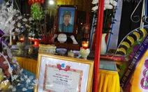 Đề nghị xem xét công nhận liệt sĩ cho anh dân quân ở Quảng Nam