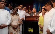 Thủ tướng Sri Lanka được bổ nhiệm lại sau khi bị sa thải