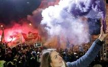 Hàng chục ngàn người biểu tình phản đối luật lao động tại Hungary