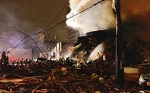 Nổ nhà hàng ở Nhật, nhiều tòa nhà đổ sập, hơn 40 người bị thương
