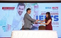Ra mắt chương trình Apax Leaders IELTS tại Việt Nam