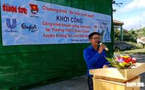 Khởi công dự án nước sạch tại xã vùng sâu Đắk Nông