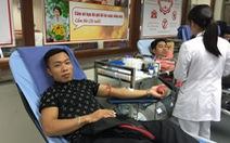 Kêu gọi người dân hiến máu trước nguy cơ thiếu hụt dịp Tết
