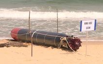 Vật thể dạt vào bờ biển Tuy An là ngư lôi tập của hải quân nước ngoài