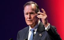 Dẹp khác biệt chính trị, ông Trump tưởng nhớ cố tổng thống Bush 'cha'
