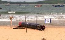Hải quân đã tiếp nhận vật nghi ngư lôi tập của nước ngoài