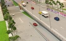 Hà Nội chi 80 tỉ làm hầm đường bộ xuyên đê sông Hồng