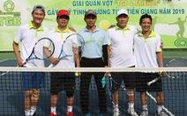 Gần 300 triệu đồng từ Giải quần vợt gây quỹ tình thương