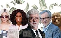 Forbes công bố top 10 ngôi sao giàu nhất nước Mỹ năm 2018