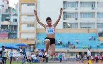 Nhảy xa nữ bị loại khỏi SEA Games 2019 tại Philippines