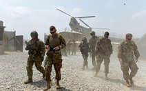 Mỹ rút, NATO vẫn cam kết nhiệm vụ tại Afghanistan