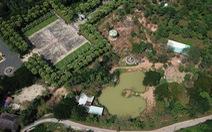 Đất công viên lịch sử cho thuê sai, đề nghị thu hồi nhiều lần chưa được