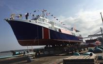 Tàu khách 1,2 triệu USD bắt đầu phục vụ khách ra đảo Lý Sơn