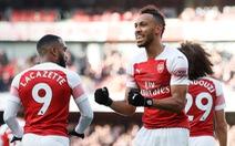 Aubameyang lập cú đúp, Arsenal thắng dễ Burnley