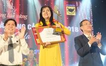 Phương Thảo đoạt giải Bông lúa vàng 2018