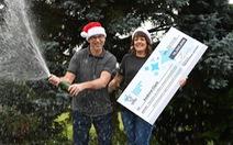 Tìm thấy vé số 86 triệu USD sau xe tải đúng dịp Giáng sinh