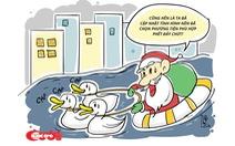 Quan hệ phức tạp giữa ông già Noel với trẻ em