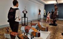 Triển lãm điêu khắc Sài Gòn - Hà Nội: Heo 'lên ngôi' trong năm Kỷ Hợi