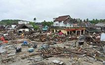 429 người chết, 154 người mất tích vì sóng thần ở Indonesia,