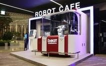 Quán cà-phê robot áp dụng mạng 5G đầu tiên trên thế giới