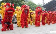 108 con lân nhả 108 chữ Tài - Lộc chúc phúc năm mới