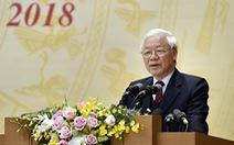 Tổng bí thư, Chủ tịch nước: Kiên quyết đấu tranh loại bỏ những người tham nhũng