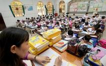Chương trình giáo dục mới: Lo cho 20% bậc tiểu học vùng khó khăn