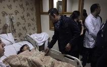 Hình ảnh từ bệnh viện Ai Cập đang chăm sóc các nạn nhân người Việt