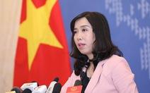 Quan điểm của Việt Nam về việc Mỹ đưa tàu khu trục tuần tra ở Hoàng Sa