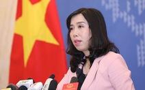 Bộ Ngoại giao: 'Việt Nam mong muốn Venezuela hòa bình, ổn định'