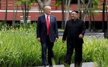 Tổng thống Trump nói sẽ 'thực hiện các mong muốn' của ông Kim Jong Un