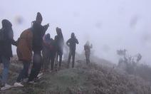 Giảm thấp đột ngột, Mẫu Sơn rét hại 3 độ C