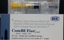 Lại thêm 30 trẻ chích ngừa ComBE Five nhập viện