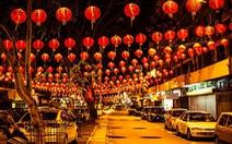 Giao thừa dương lịch ở Trung Quốc đèn đuốc sáng trời